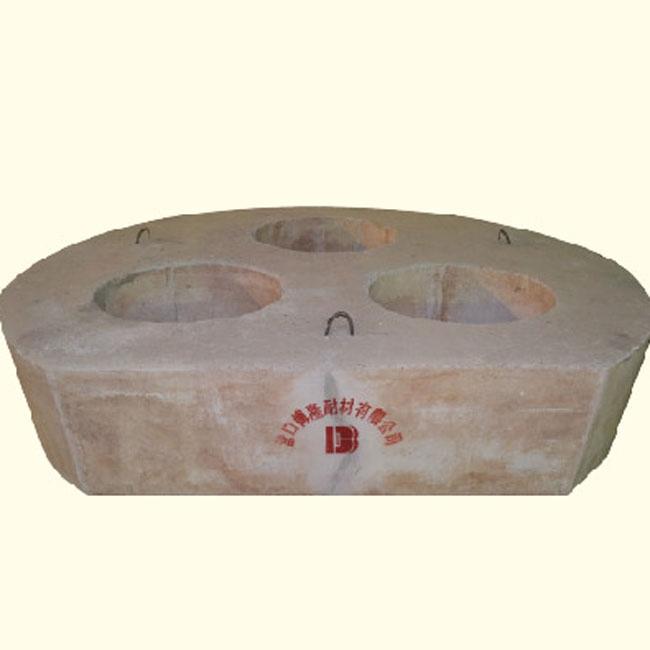 Сборные детали электропечи с центральной крышкой печи